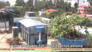 FOLDABLE BIOGAS PLANT-A NEW GENERATION SYSTEM FOR WASTE MANAGEMENT FROM BIOTECH INDIA