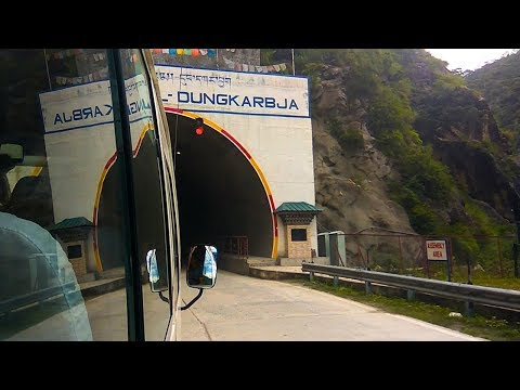 Bhutan's First Tunnel Road - Wangdue Gelephu Highway