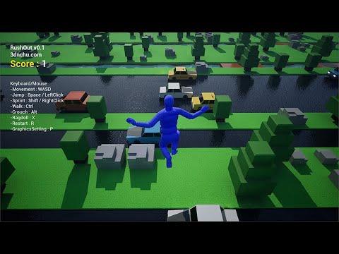 RushOut v0.1 Gameplay