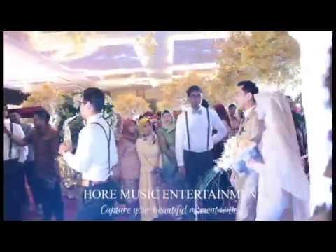 Hore Music Entertainment - Menikahimu (Kirab Saxofone) Band wedding surabaya