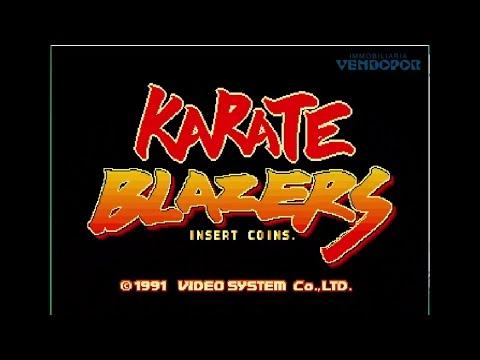 Karate Blazers 1991 Video System Games Jugando Juegos Arcades Vintage Gamers Gaming RetroGaming