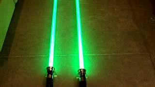 Luxeon V Green vs. Luxeon Tri-Rebel Green Round 3