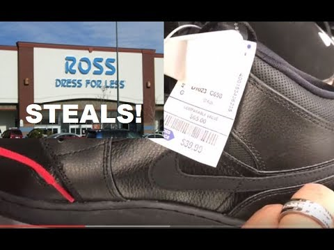 Sneaker Finds At Ross For Less - RARE SHOE FIND SNEAKER SHOPPING