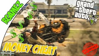 GTA 5 PC: Money Cheat / Health / Ammo / Stamina