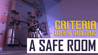 How to How to Build a Safe Room  [Criteria When Building a Safe Room]