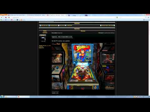 how to install Future Pinball download the tables and play for free tutorial
