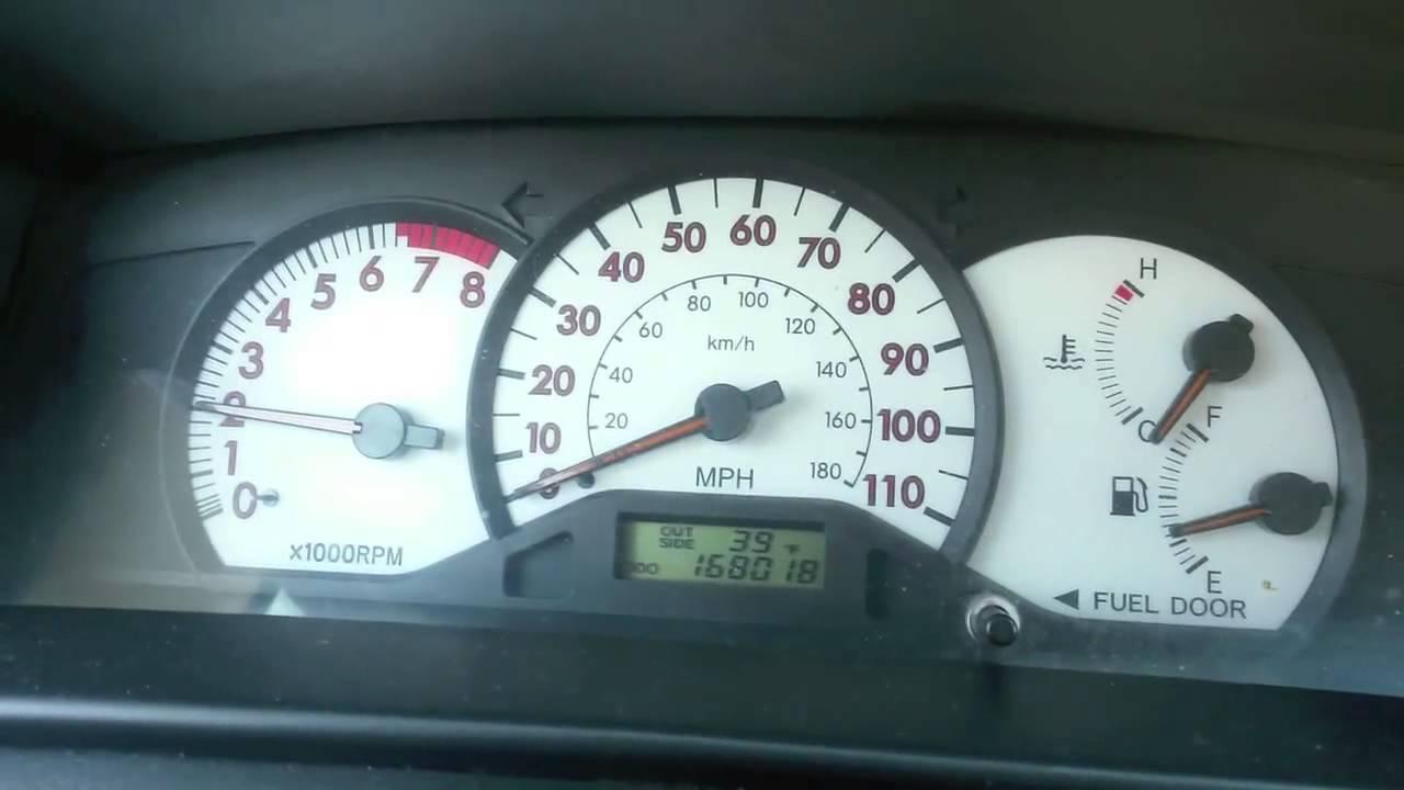 2003 Toyota Corolla high idle fix (1ZZ-FE engine)