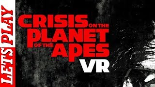 Crisis On The Planet Of The Apes PSVR Gameplay + Full Walkthrough