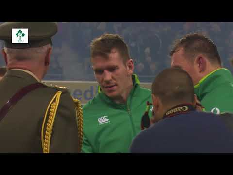 Irish Rugby TV: Ireland v Fiji Tunnel Cam