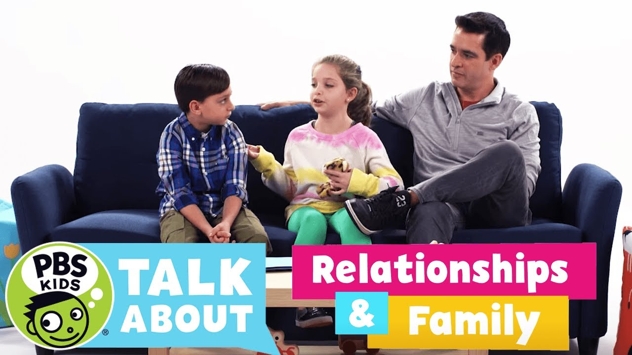 PBS KIDS Talk About | RELATIONSHIPS & FAMILY | PBS KIDS