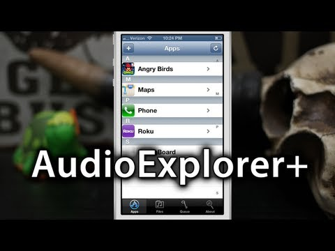 [Cydia Tweaks] AudioExplorer+ - Import Any App's Audio Into Your Ringtones Or Music Library