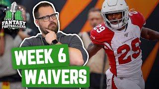 Fantasy Football 2019 - Week 6 Waivers + Full Stream Ahead, Russian Roulette Week - Ep. #791