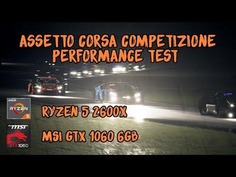 Assetto Corsa Competizione | Performance Test | Ryzen 5 | GTX 1060 |