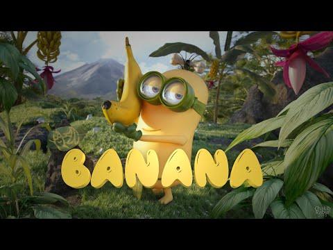 Мультфильм миньоны банана