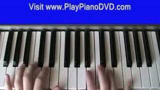 How to play Come with me by Sammie on the piano