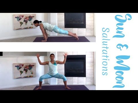 Have you ever heard of a moon salutation?