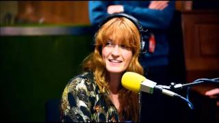 Florence + the Machine @ BBC Radio 1 Live Lounge - Interview