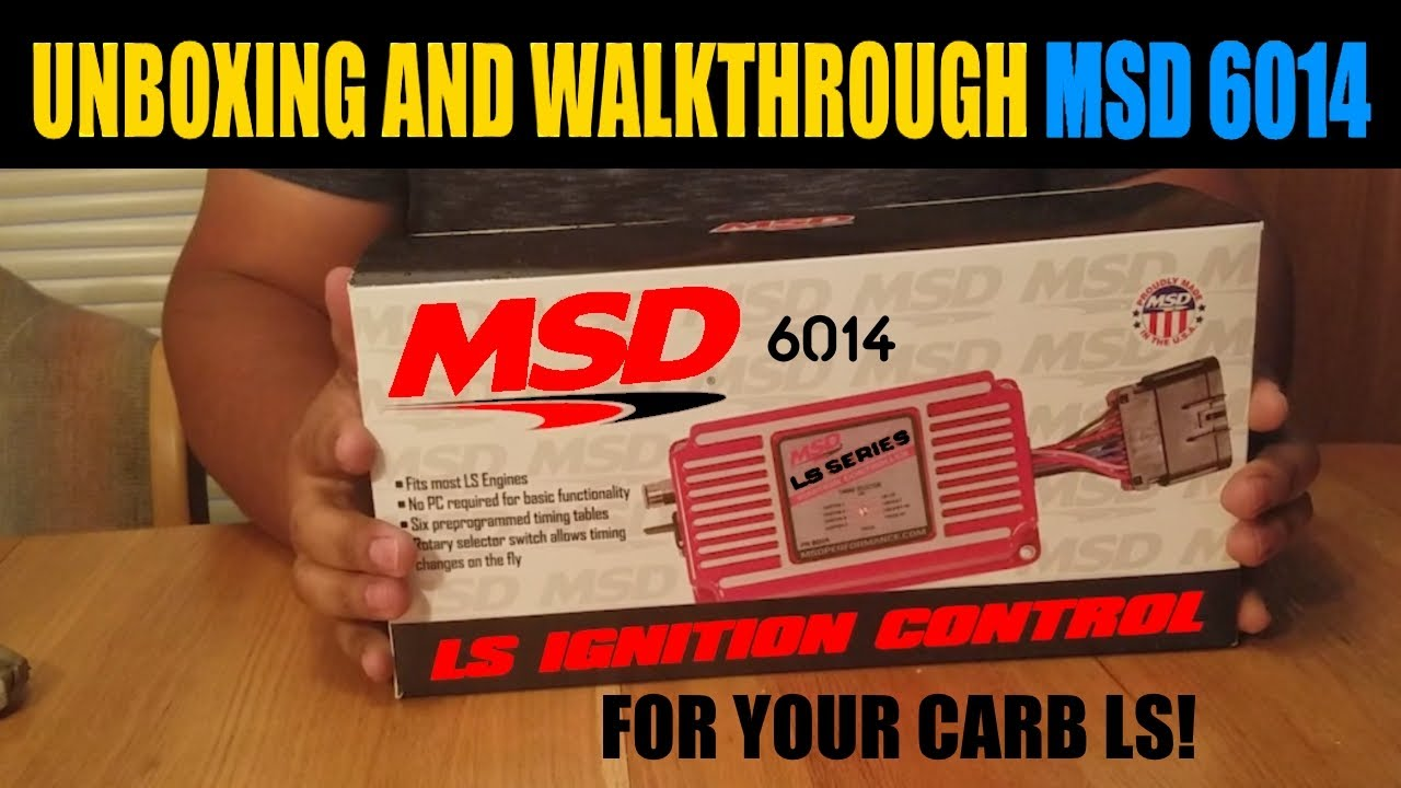 MSD 6014 LS Swap Ignition Controller   NW  Ep40