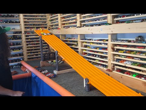 "2016 HOT WHEELS SUPER 6 LANE KING OF THE HILL #2 ""The Race"" Round 2"