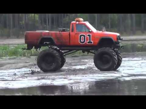GENERAL LEE JEEP @ THE HIGHLANDS - YouTube