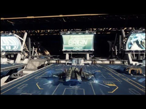 Star Citizen - Alpha 2.0 - Flying Missions Around Port Olisar