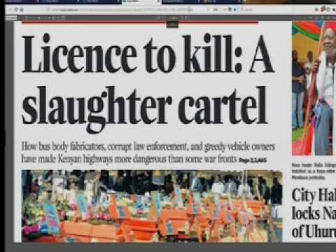 Power Breakfast :Licence to kill : A slaughter cartel