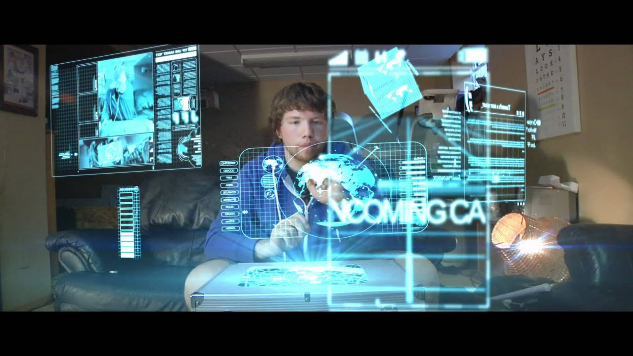 3d Holograms Wallpaper First Hologram Tests Hd Youtube