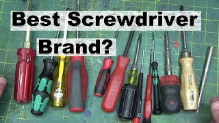 Screwdrivers is BEST screwdrivers?