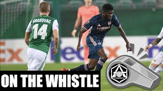 On the Whistle: Austria Wien 12 Arsenal  'Obligatory Partey Pun'