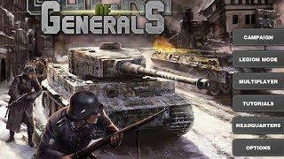 Glory of Generals walkthrough - Operation Sealion