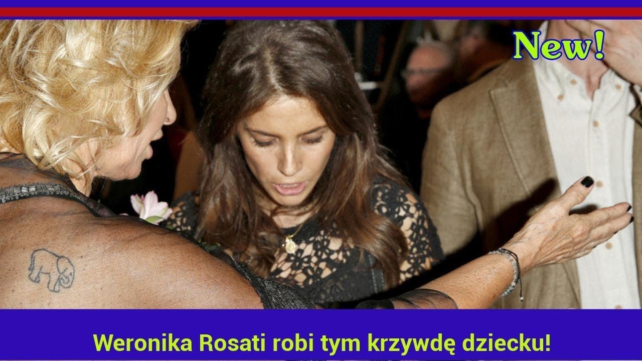 Weronika Rosati robi tym krzywdę dziecku! Fanki ją zlinczowały!
