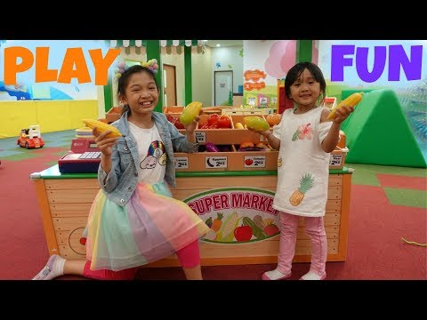 KIDS FUN PLAY At A INDOOR PLAYGROUND