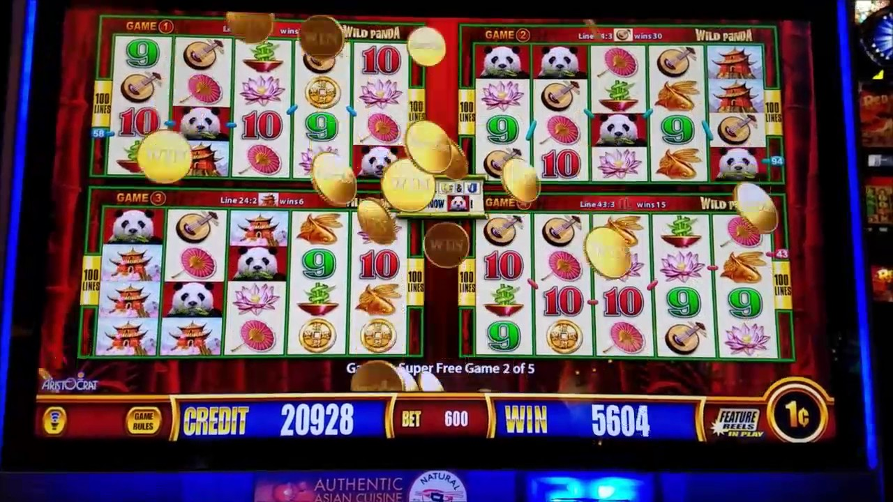 Wild panda slot machine jackpot