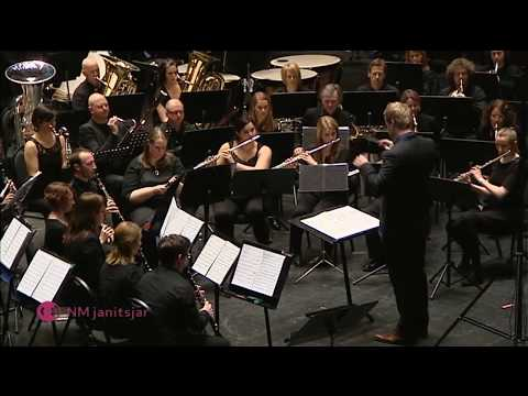 Blue shades (Frank Ticheli) played by Norwegian wind band Opus 82