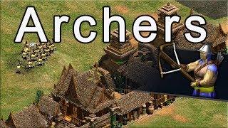 AoE2 Build Order   Archers!