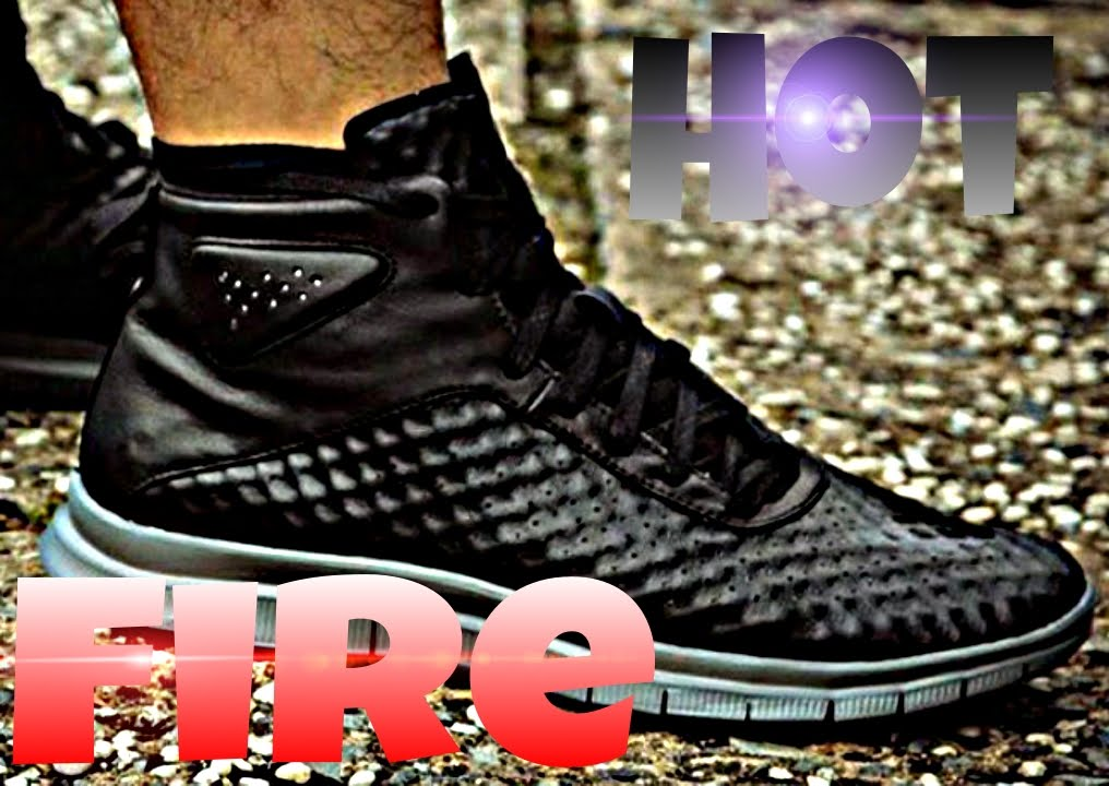 2dc628503d22 The Nike Free Hypervenom Mid  Triple White  Review - YouTube