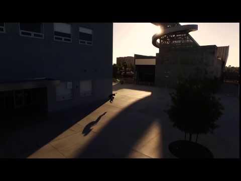 """*FREE* """" Skateboard 1 """" Web Background Video Loop (STOCK VIDEO FOOTAGE!)"""