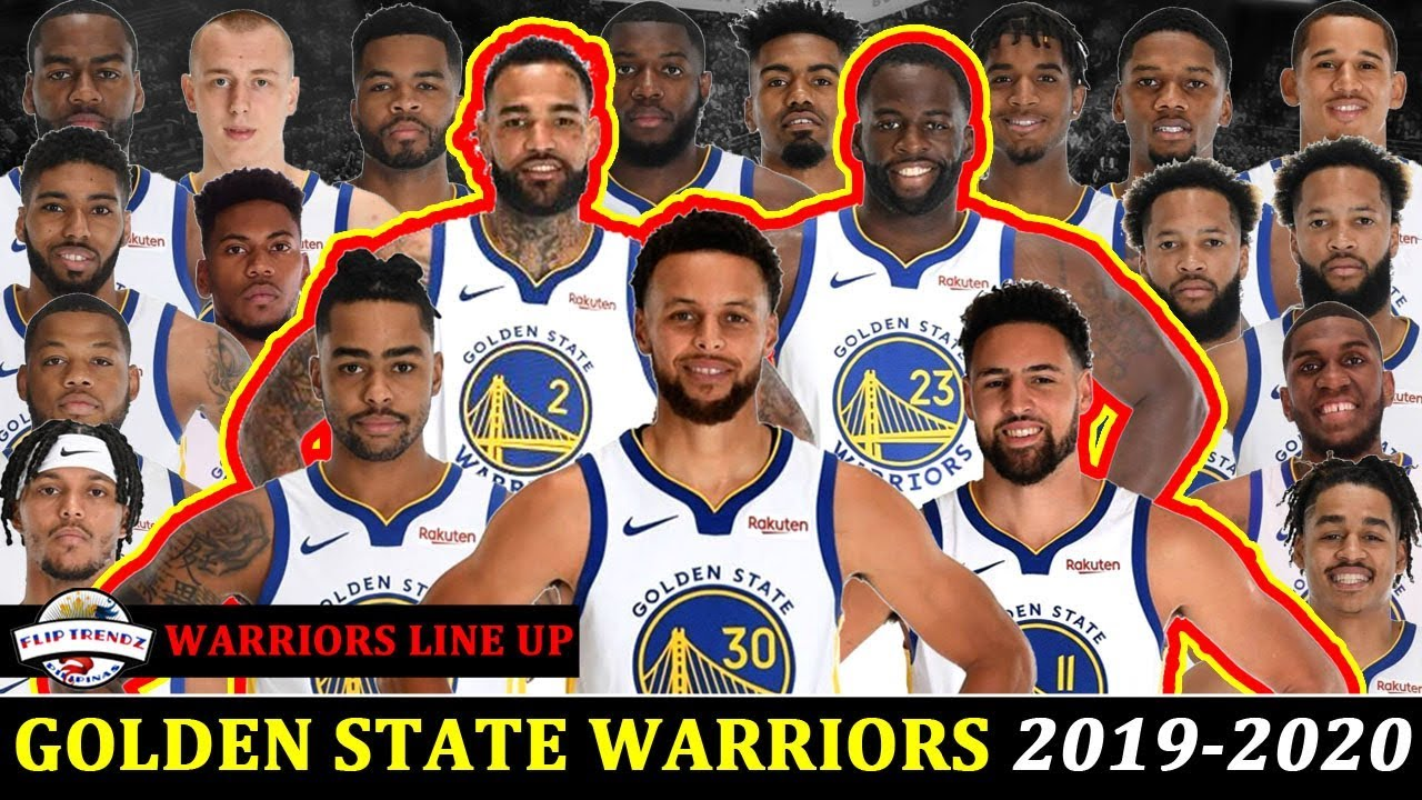 Golden State Warriors Roster 2019 2020 Youtube