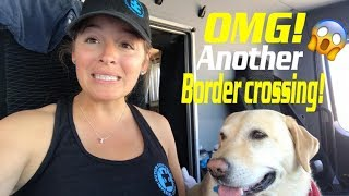 Border crossing with 4x4 RV Truck | Travel Vlog - Mexico EP1► | Live and Give 4x4