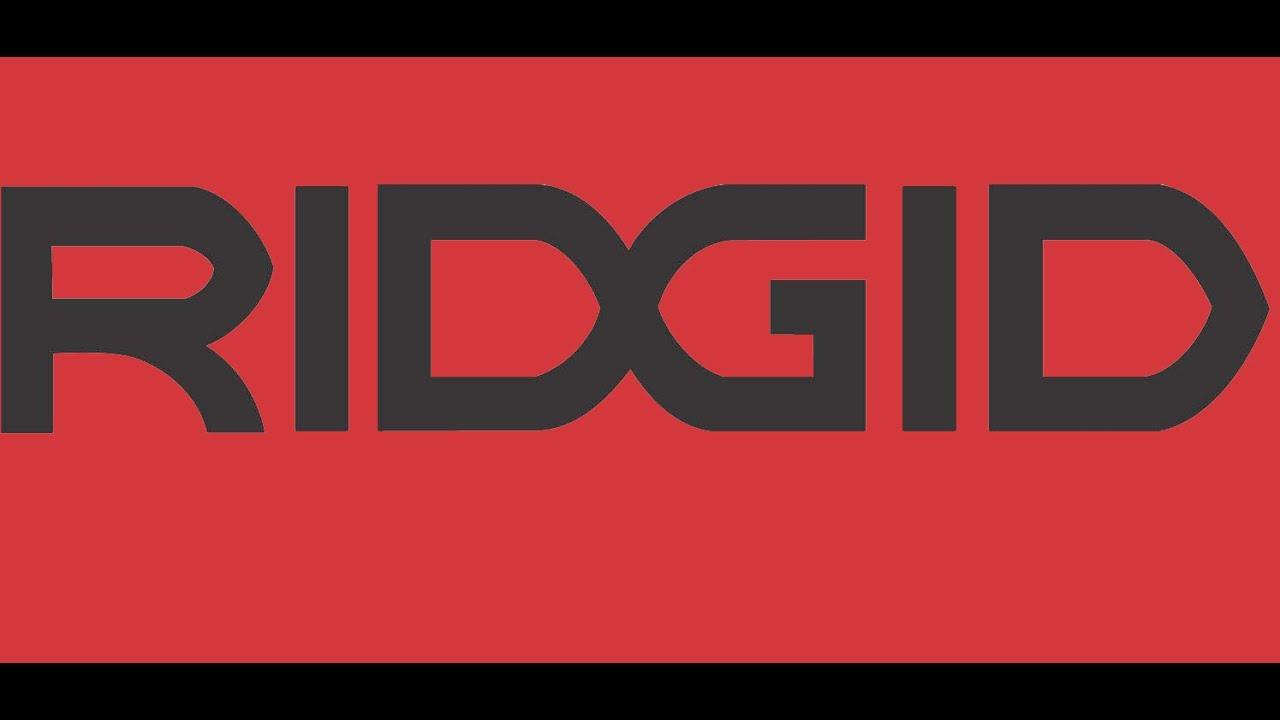ridgid logo. ridgid 31305 e110 wrench logo