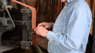 How To Use A Belt Grinder For Knife-making