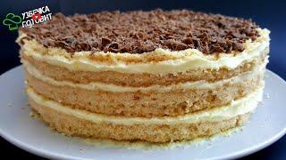 Торт Без Духовки за 30 Минут Простой и быстрый торт без выпечки