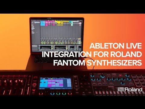 Ableton Live Integration for Roland FANTOM Synthesizers (FANTOM 6, FANTOM 7, FANTOM 8)