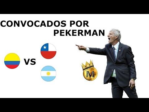 Convocatoria Seleccion Colombia para enfrentar a Chile y Argentina