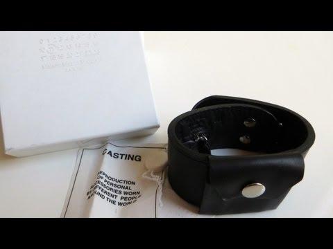 Maison Martin Margiela Review - Leather Cuff Bracelet - Secret Pocket