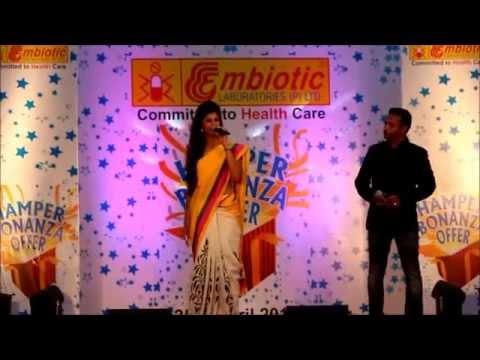 MC Navyatha Sagar hosting for Embiotic Laboratories - A pharmaceutical group