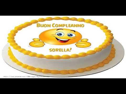 Molto Tanti Auguri di Buon Compleanno Sorella! - YouTube JC22