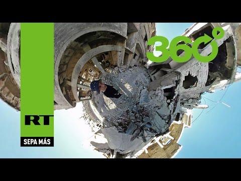 Desde Homs en 360º: Un equipo de RT grabó los desoladores efectos de la guerra en Siria