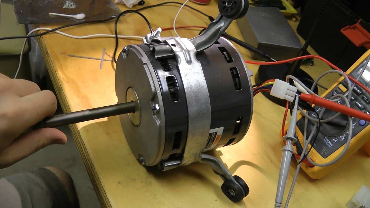 Furnace Wiring Diagram For Ge Emerson Brushless Dc Ecm Blower Motor Fix Youtube