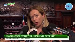 CESARE BATTISTI. ARRESTATO IN BRASILE L'EX TERRORISTA